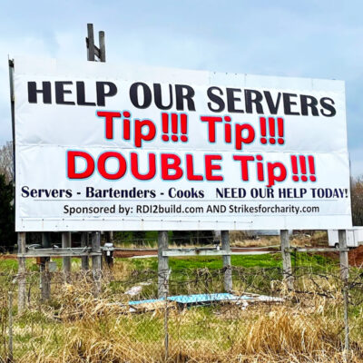 Double Tip Banner